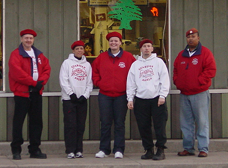 The Guardian Angels on their first day in Peoria, which was January 21, 2006.  Thank you, angels.