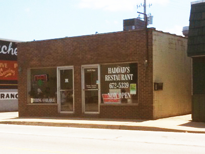 1024 W. Main St.  Rear